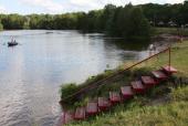 мостик в реку