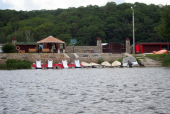 VIP-Zone со стороны реки