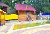 Дом-сауна с открытым бассейном